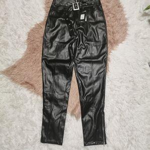 Fashion Nova Leather Pants M